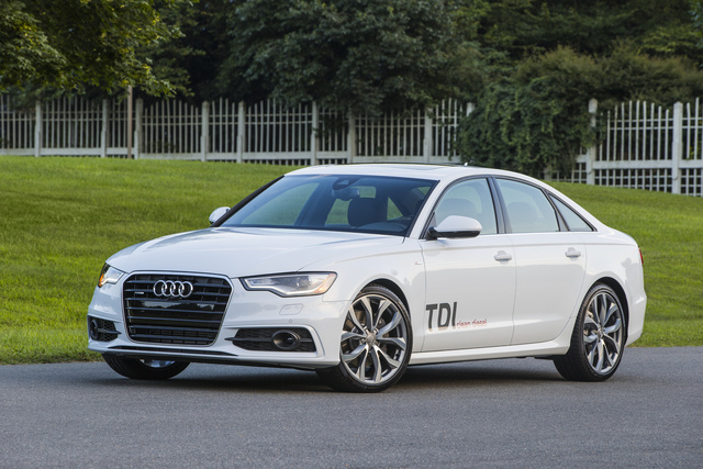 2014 Audi A6, Front-quarter view, exterior, manufacturer, gallery_worthy