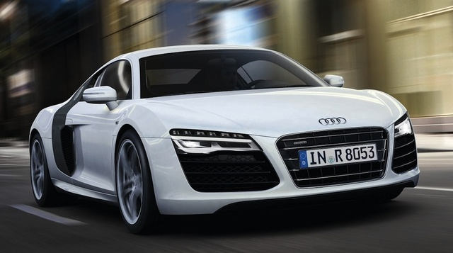 2013 Audi R8, Front-quarter view, exterior, manufacturer, gallery_worthy
