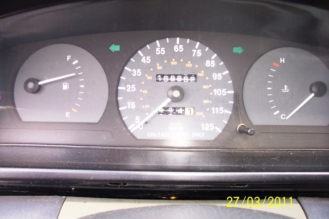Picture of 1996 Kia Sephia RS, interior