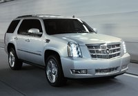 2014 Cadillac Escalade, Front-quarter view. Copyright General Motors, exterior, manufacturer