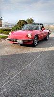1985 Alfa Romeo Spider, driver front, exterior