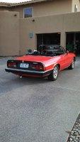 1985 Alfa Romeo Spider, passenger rear, exterior