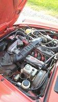 1985 Alfa Romeo Spider, engine, engine