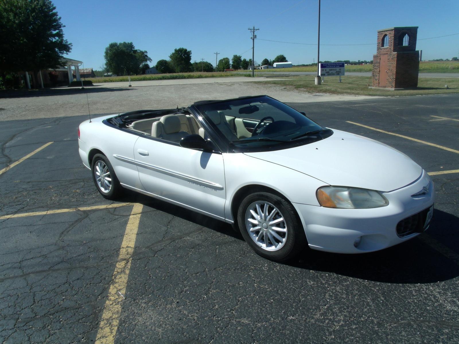 Chrysler Sebring Limited Convertible Pic on 2004 Chrysler Sebring Lx