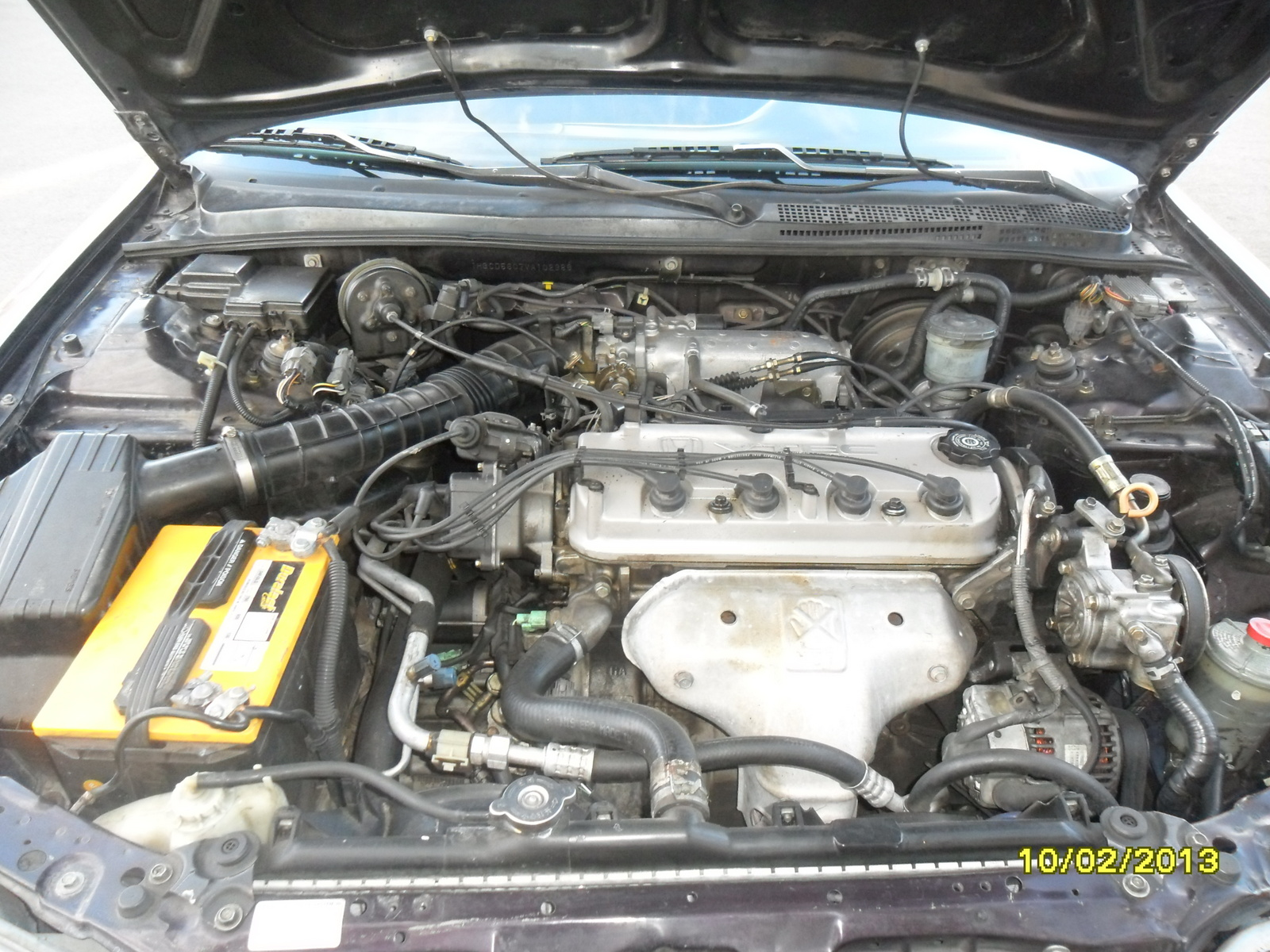 1997 Honda Accord Special Edition picture, engine