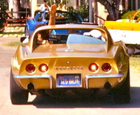 1969 Chevrolet Corvette Coupe, Car when new.  At Corvette Club outing in Lake Elsinore.  Riverside Gold was the color when new., exterior