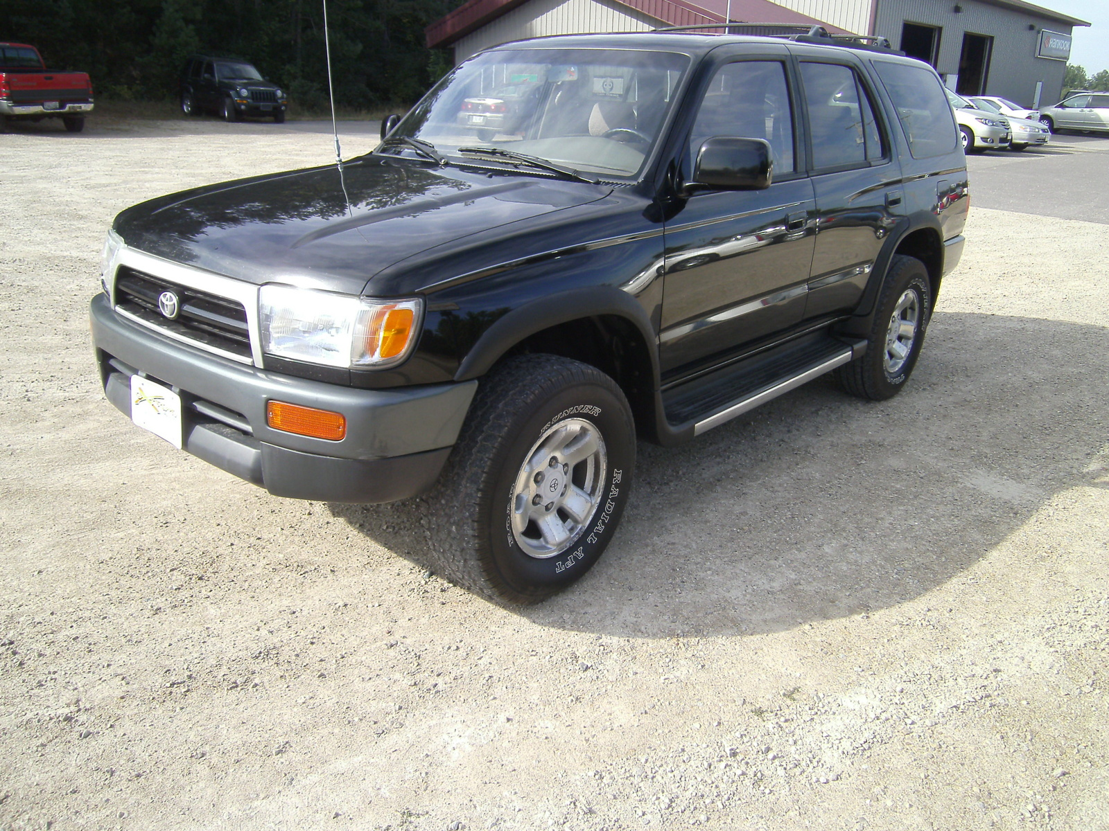 picture of 1997 toyota 4runner 4 dr sr5 4wd suv exterior. Black Bedroom Furniture Sets. Home Design Ideas