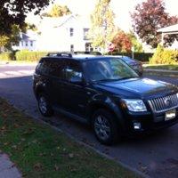 2008 Mercury Mariner Premier AWD, Front, exterior