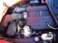 2010 Chevrolet Corvette Coupe 1LT, Picture of 2010 Chevrolet Corvette Base 1LT, engine