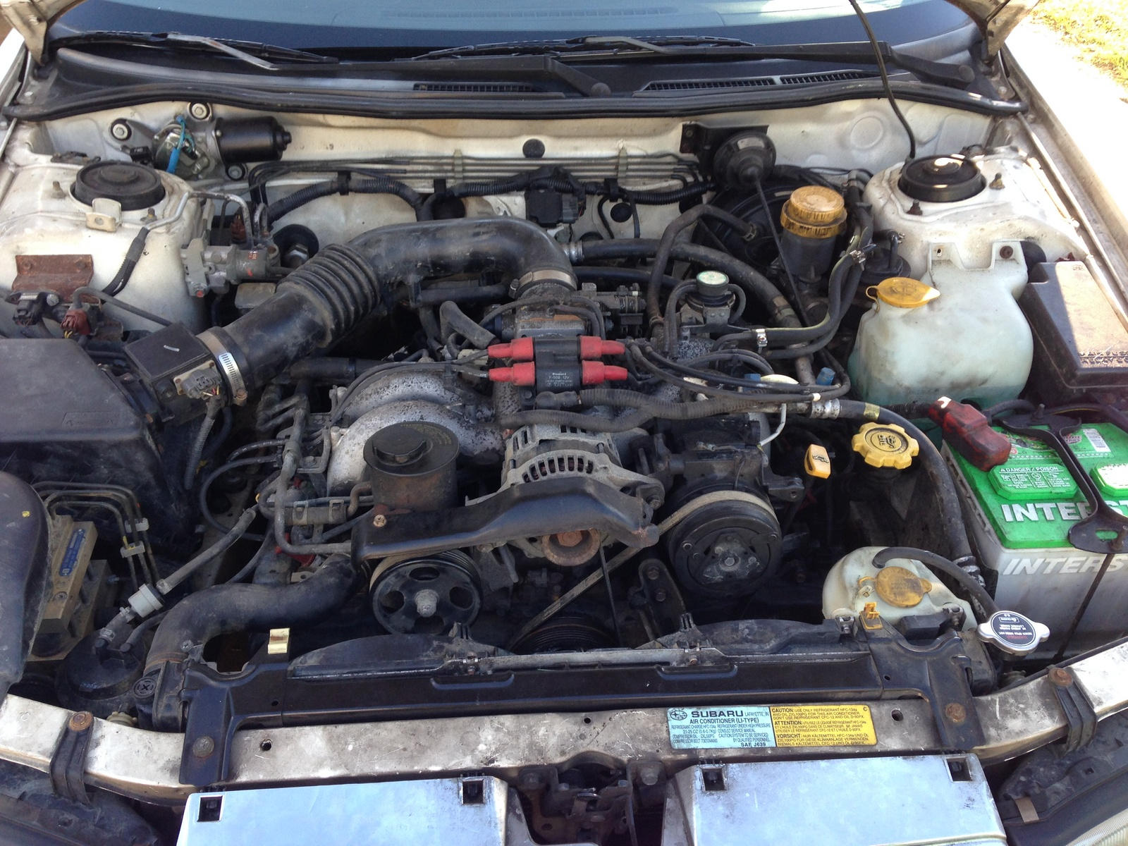 Picture of 1995 Subaru Legacy 4 Dr L AWD Wagon, engine