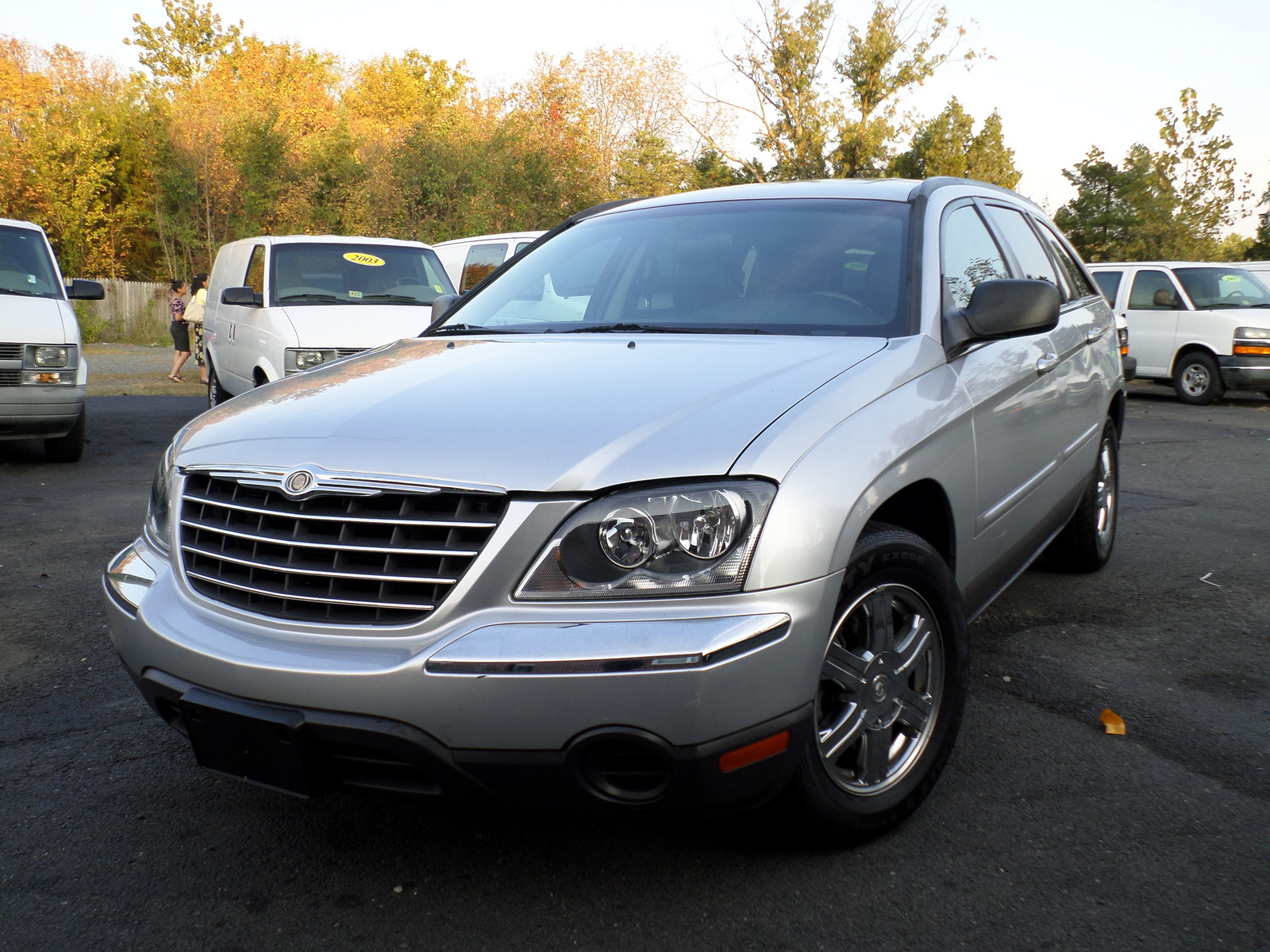 picture of 2006 chrysler pacifica touring awd exterior. Cars Review. Best American Auto & Cars Review