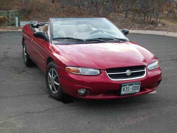 1997 chrysler sebring trim information cargurus. Cars Review. Best American Auto & Cars Review