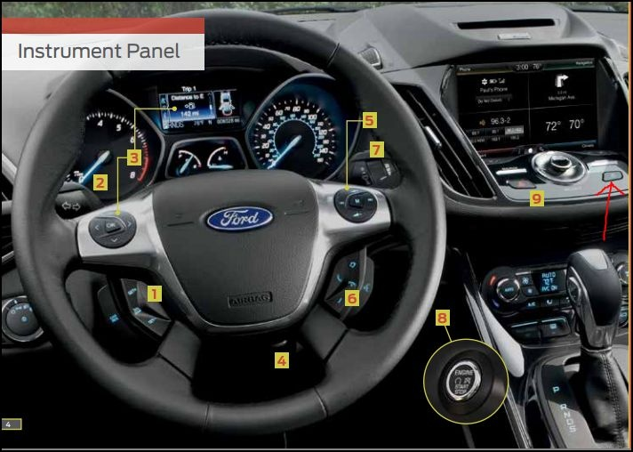 Ford Escape Questions What Is The Button To The Right Of The