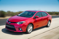 2014 Toyota Corolla, Front-quarter view, exterior, manufacturer