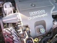 1997 Buick Regal 4 Dr GS Supercharged Sedan picture, engine