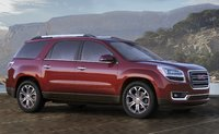 2014 GMC Acadia, Front-quarter view. Copyright General Motors, manufacturer, exterior