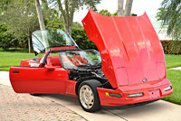 Picture of 1996 Chevrolet Corvette Coupe, exterior, engine