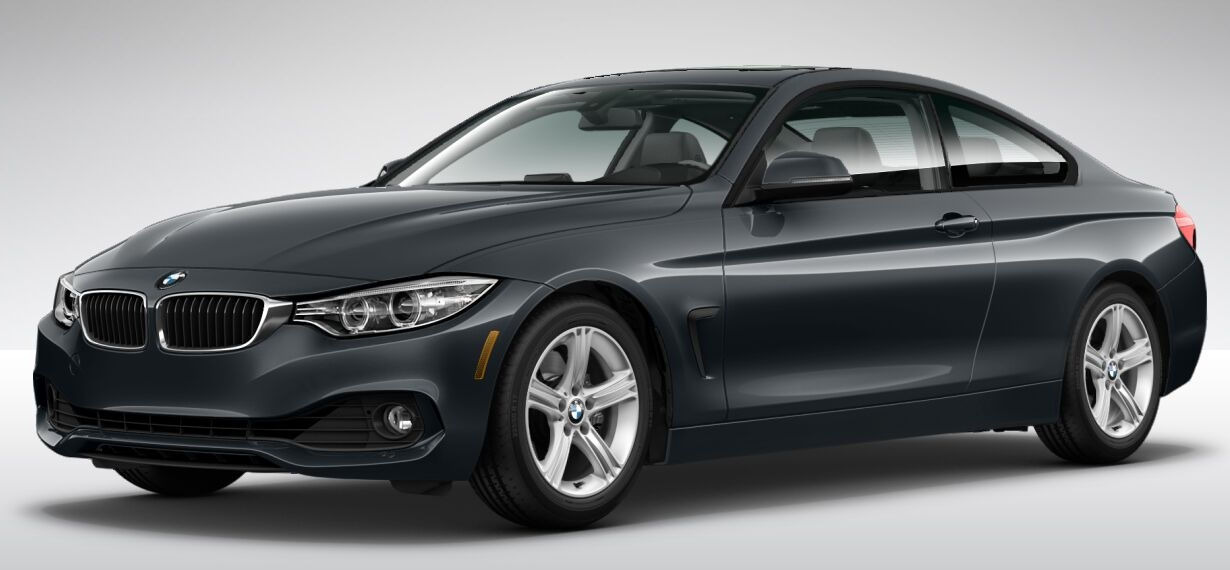 2014 BMW 4 Series, Front-quarter view, exterior, manufacturer