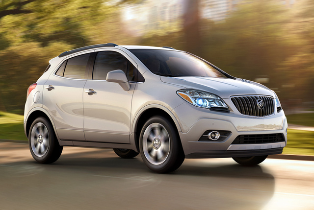 2014 Buick Encore, Front-quarter view. Copyright General Motors, exterior, manufacturer, gallery_worthy