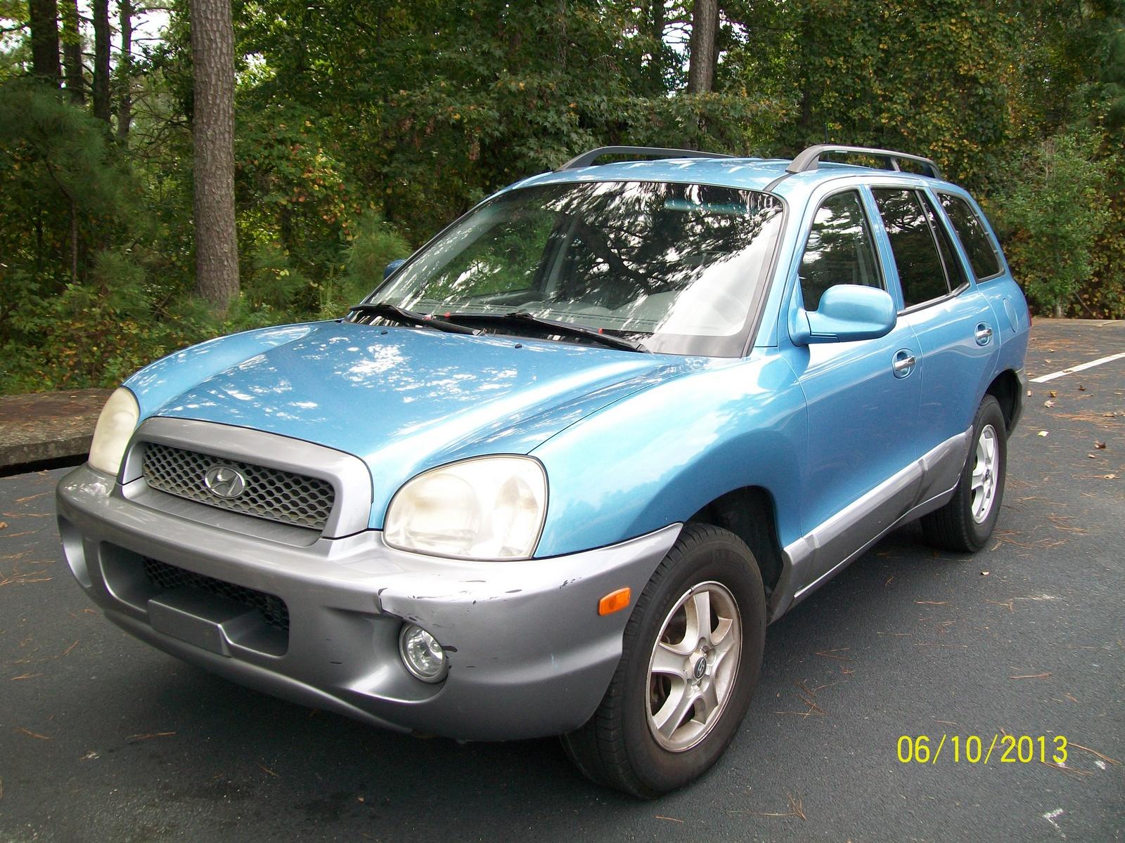 2004 Hyundai Santa Fe Pictures Cargurus