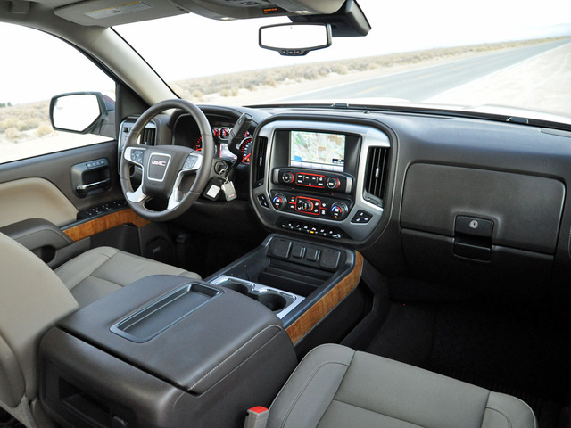 Perfect 2014 GMC Sierra 1500 SLT Interior, Interior, Gallery_worthy Images