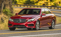 2014 Mercedes-Benz E-Class, Front-quarter view, manufacturer, exterior