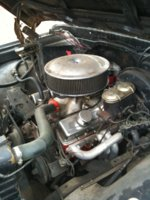 Picture of 1971 GMC Sierra, engine