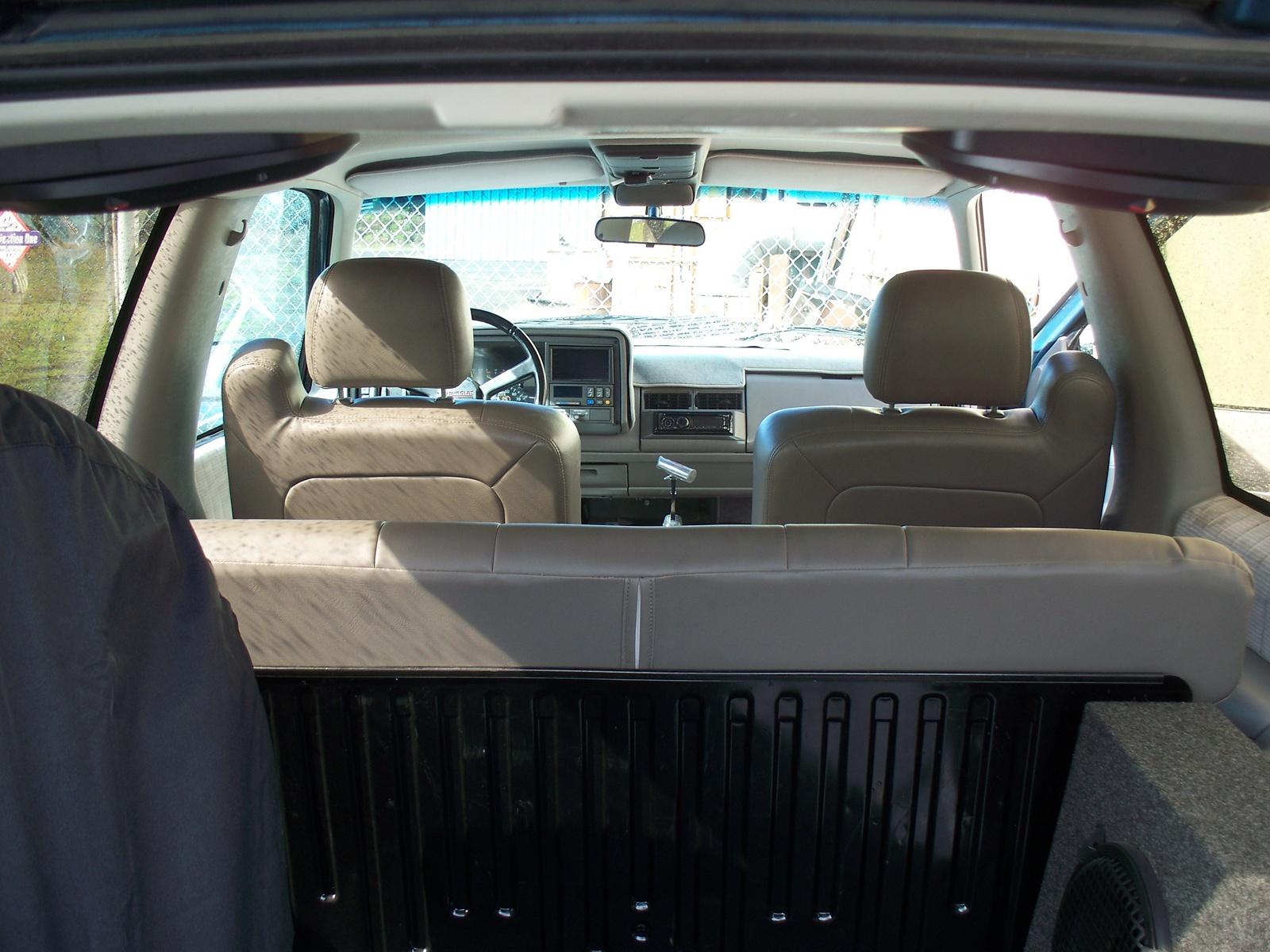 1993 Chevrolet Blazer Interior Pictures Cargurus