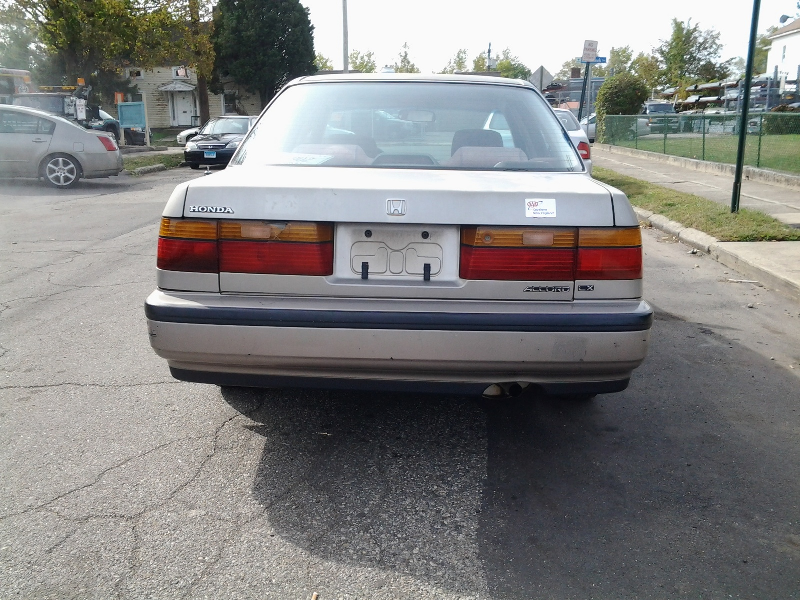 picture of 1991 honda accord lx exterior