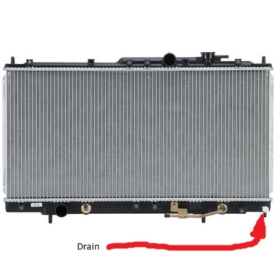 2000 dodge stratus radiator