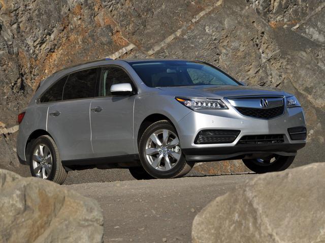 2014 Acura Mdx Overview Cargurus