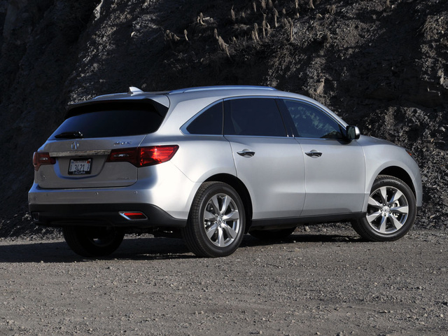 Acura Mdx 2012 Silver