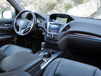 2014 Acura MDX dashboard, technology, interior