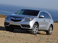 2014 Acura MDX, safety, exterior