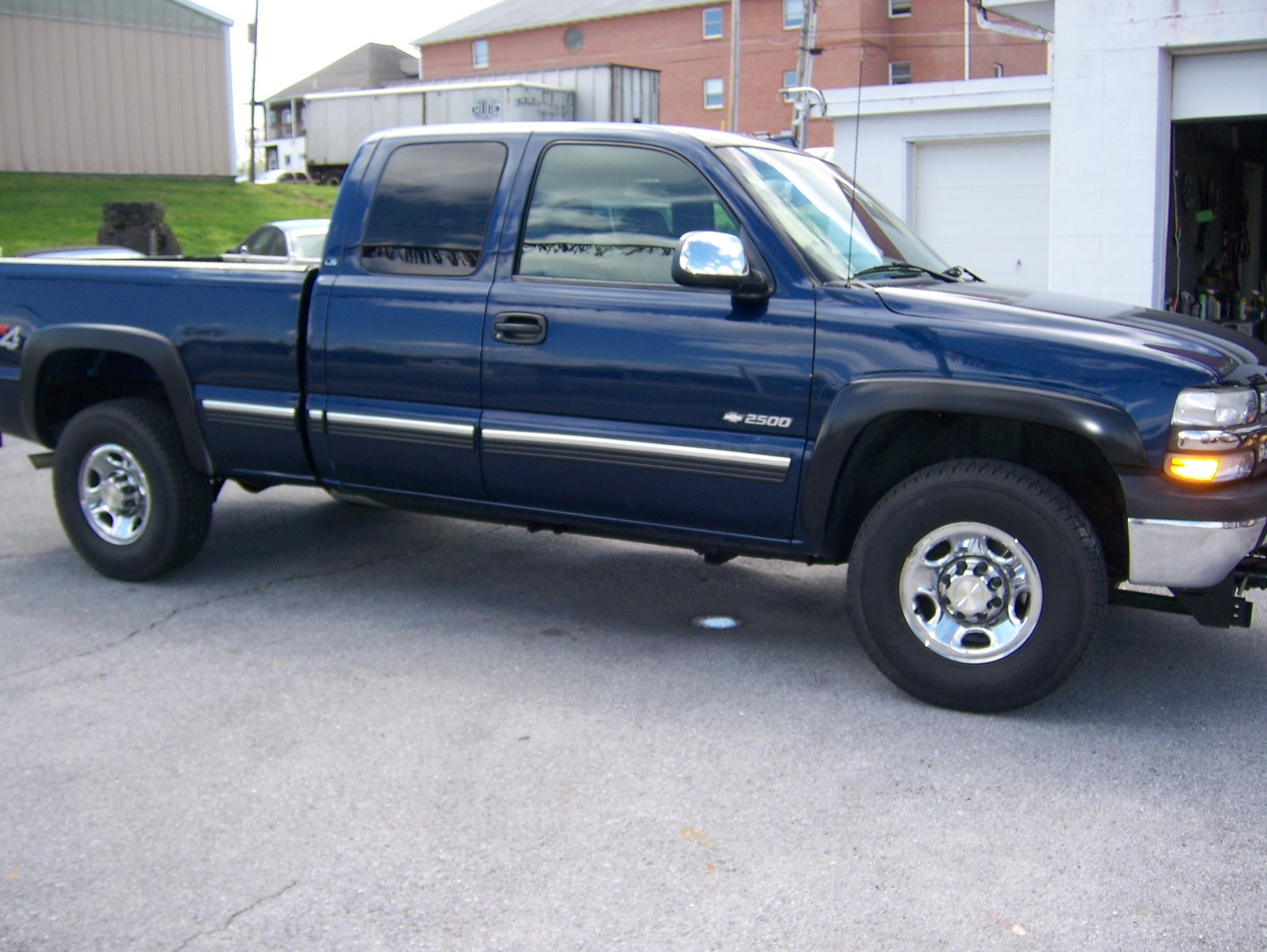 picture of 2000 chevrolet silverado 2500 3 dr lt extended cab sb. Cars Review. Best American Auto & Cars Review