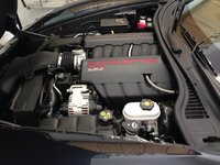 2013 Chevrolet Corvette Coupe 1LT, Picture of 2013 Chevrolet Corvette Base 1LT, engine