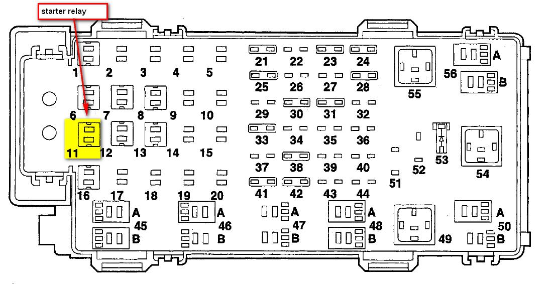 1989 ford f 150 under hood wiring diagram