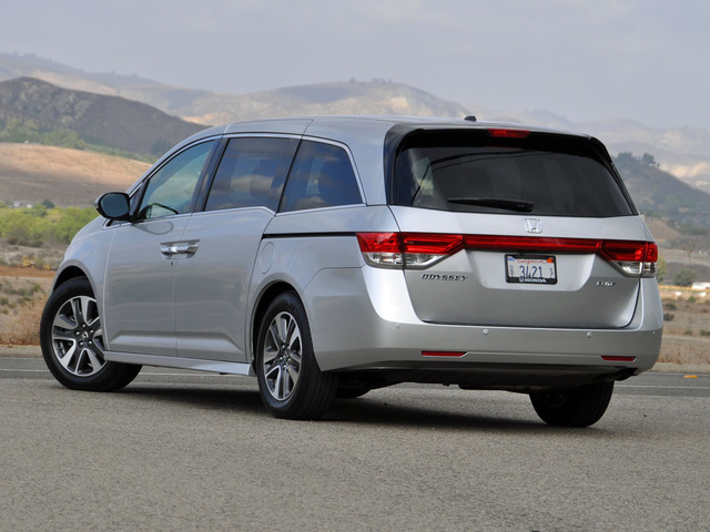 Look And Feel. 8/ 10. 2014 Honda Odyssey