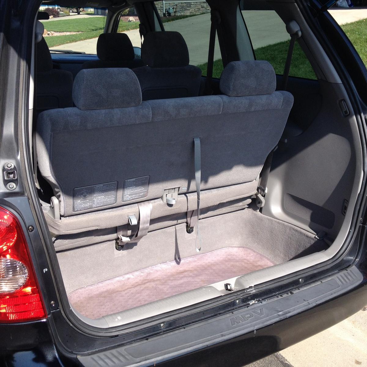 1997 Mazda Mpv Exterior: 2003 Mazda MPV