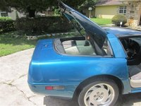 1992 Chevrolet Corvette Coupe, Picture of 1992 Chevrolet Corvette Base, exterior, interior