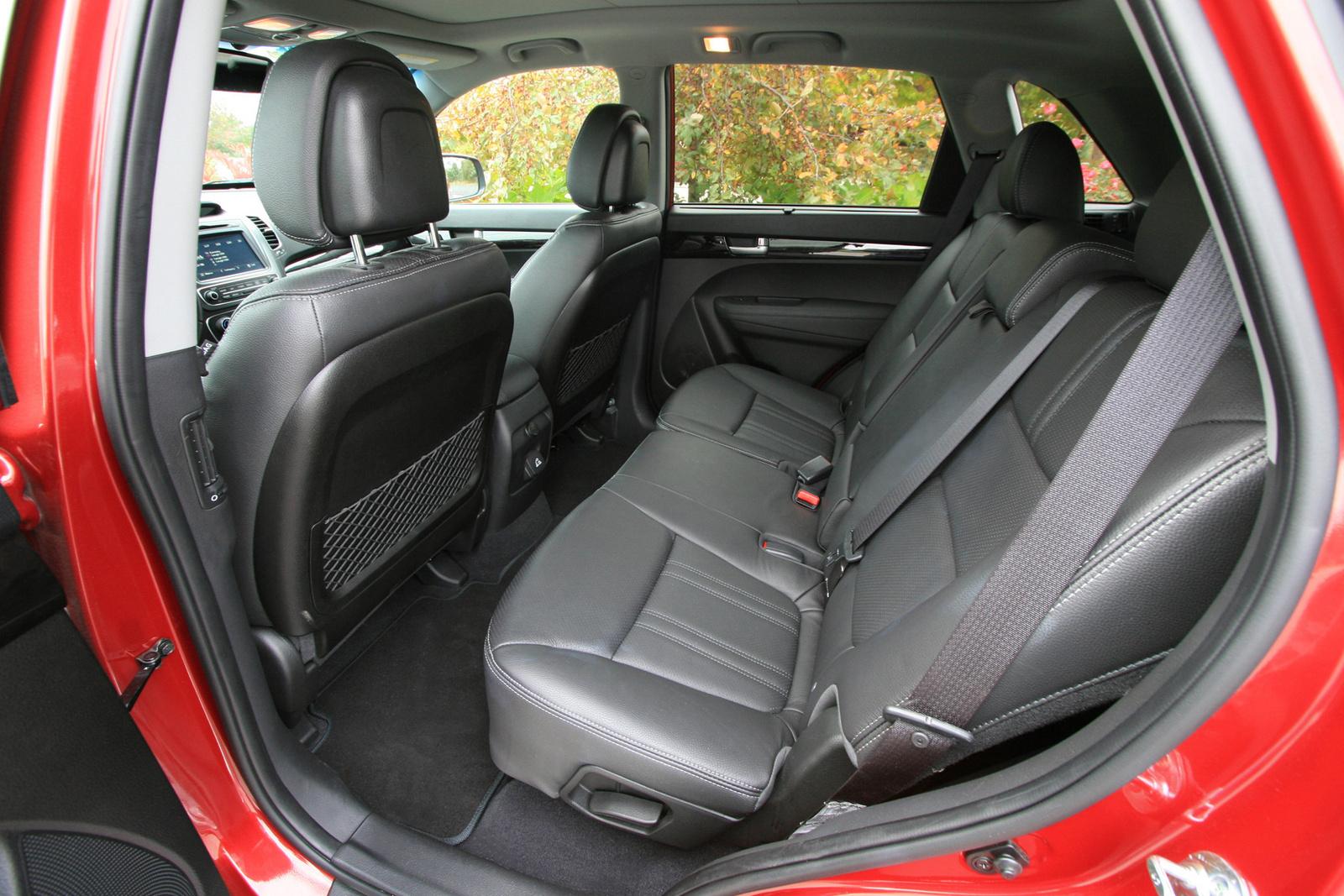 2014 Kia Sorento Sx Awd Second Row Seat Interior