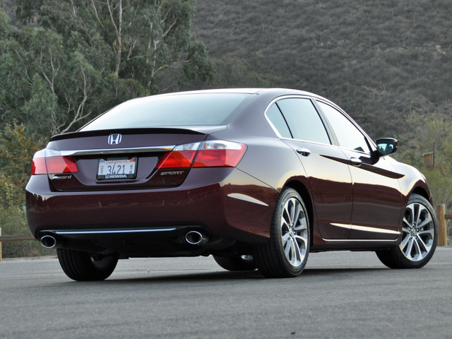 Cost Effectiveness. 9/ 10. 2014 Honda Accord