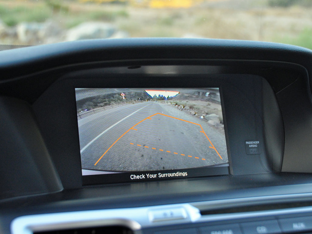 2014 Honda Accord reversing camera display, interior