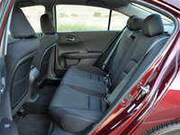 2014 Honda Accord Sport rear seat, interior