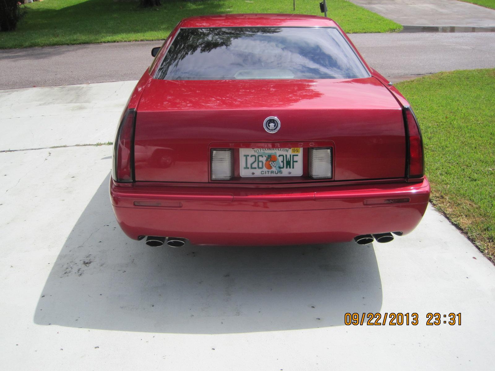 2001 Cadillac Eldorado ETC Coupe picture, exterior