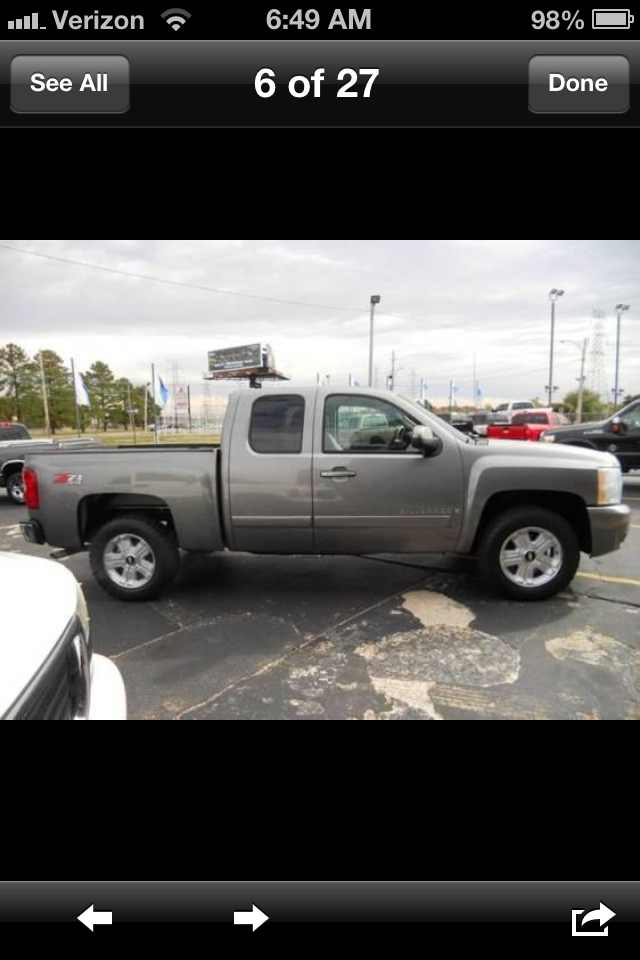 Chevrolet Silverado Classic Ls Extended Cab Wd Pic