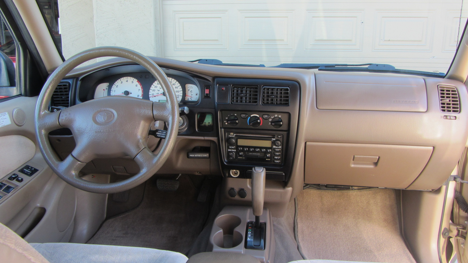 Of 2001 toyota tacoma 2 dr prerunner v6 extended cab sb - 2001 toyota tacoma interior parts ...