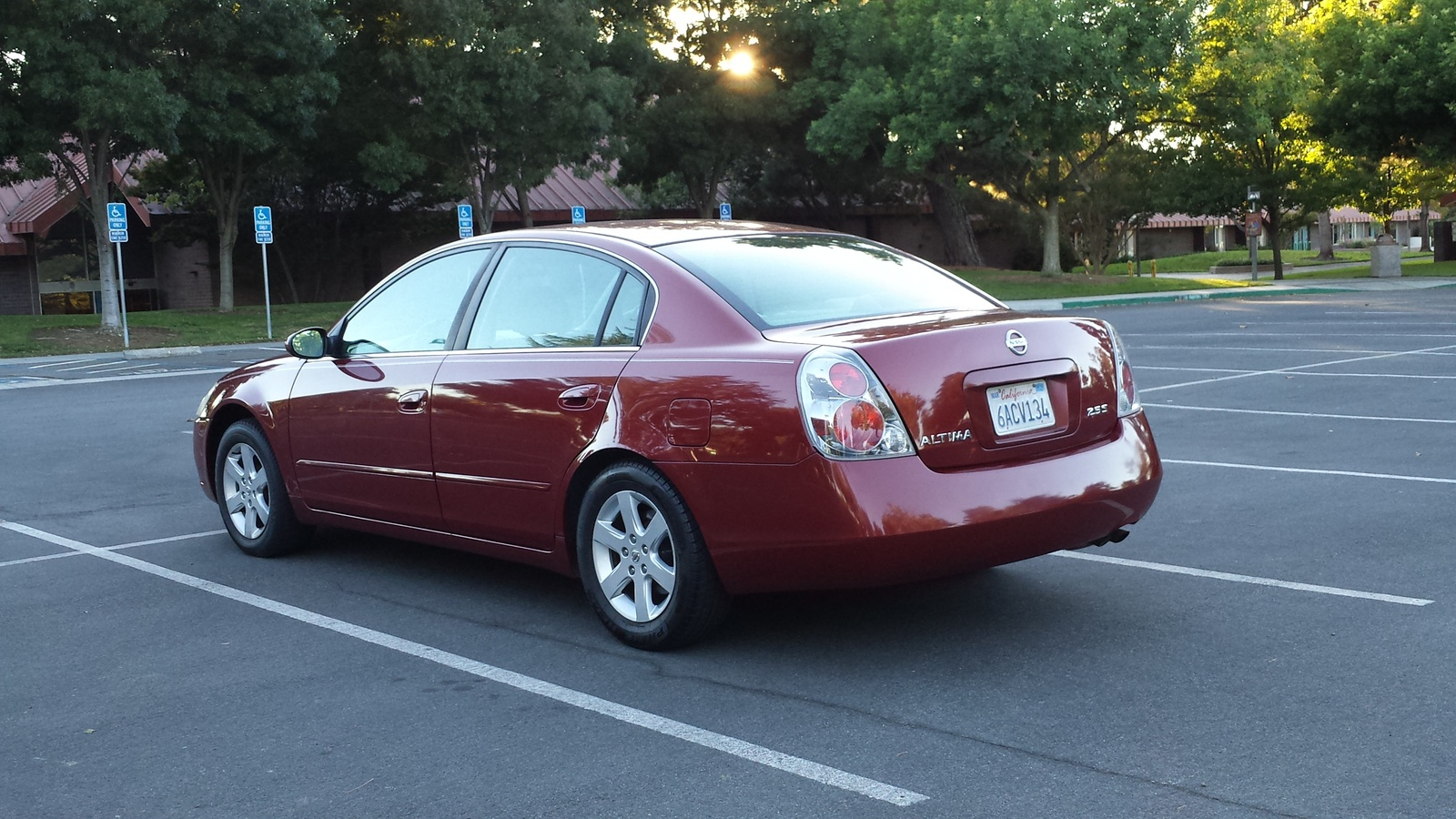 Picture of 2005 nissan altima 2 5 s