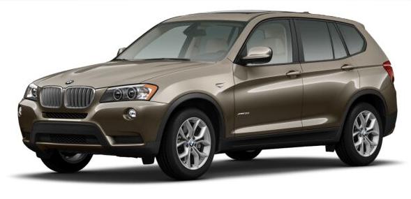 2014 BMW X3, Front-quarter view, exterior, manufacturer, gallery_worthy