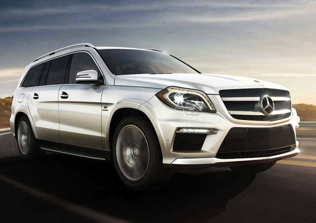 2014 Mercedes-Benz GL-Class, Front-quarter view, exterior, manufacturer, gallery_worthy